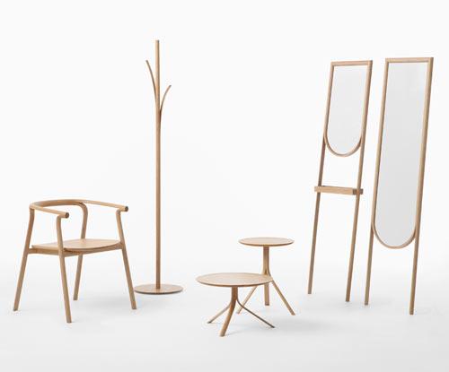 Furniture That Looks Like It's Peeling: Splinter by Nendo