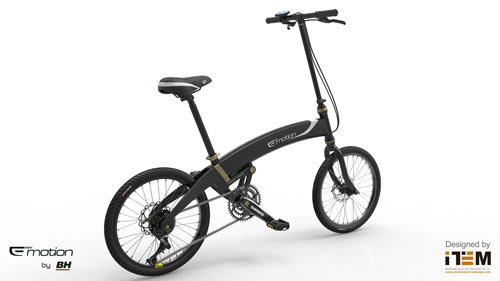 NEO VOLT: A Folding Urban E Bike in technology style fashion main  Category