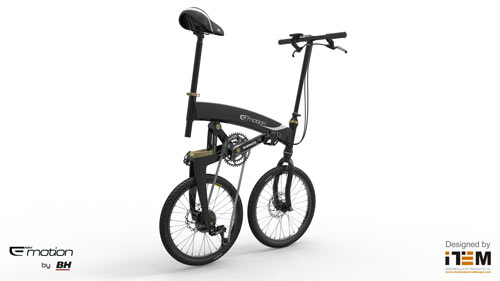 NEO VOLT: A Folding Urban E Bike in technology style fashion  Category