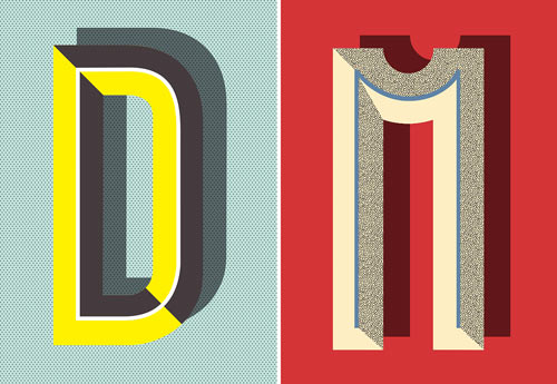 Typographic Posters: Pawaiian Hunch by Ruth Vissing