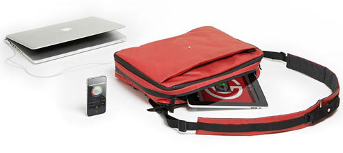 Phorce: A Super Smart Laptop Bag Charges Your Gadgets