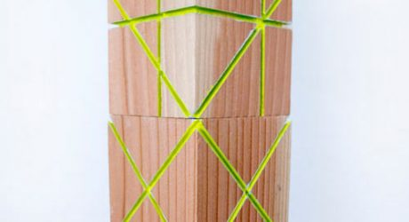 High Blocks Visual Cubes by Rona Binay