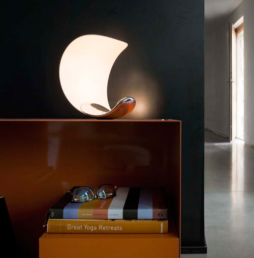 Curl Table Lamp by Sebastian Bergne for Luceplan Spa