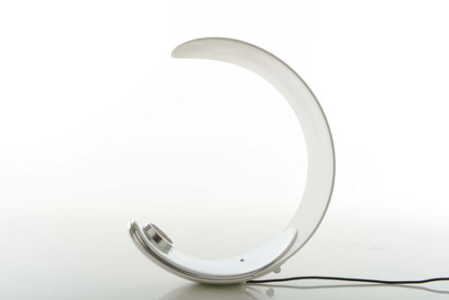 Curl Table Lamp by Sebastian Bergne for Luceplan Spa in technology main home furnishings  Category