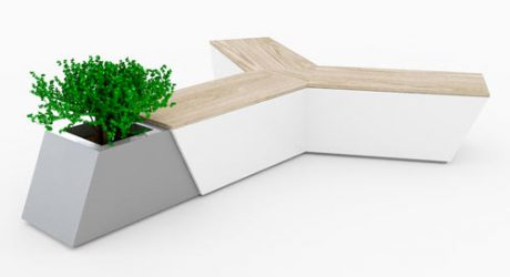 Air Bench by Alessandro Di Prisco for Urbo