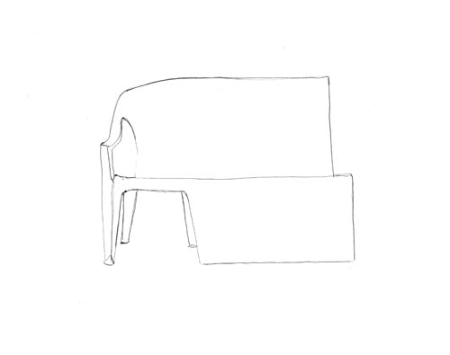 bench-chair-monobloc-drawing