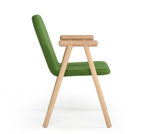 Chair Pole by Paul Nederend