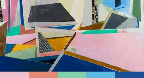 David Collins' Geometric Paintings