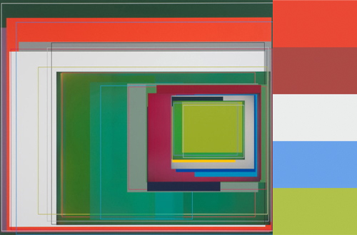 Patrick Wilson's Abstract Artwork