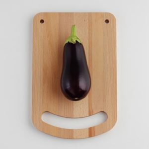 Happy Chopper Cutting Board by All Lovely Stuff