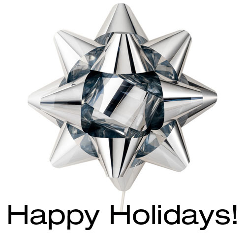 Happy Holidays from Design Milk