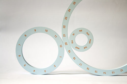 One Perpetual Calendar Circles By Jeong Yong  Design Milk