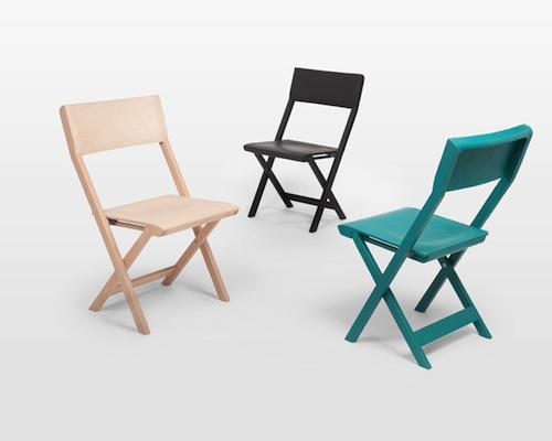 Pli Folding Chair by Florian Hauswirth Design Milk