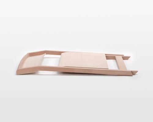 Pli Folding Chair by Florian Hauswirth