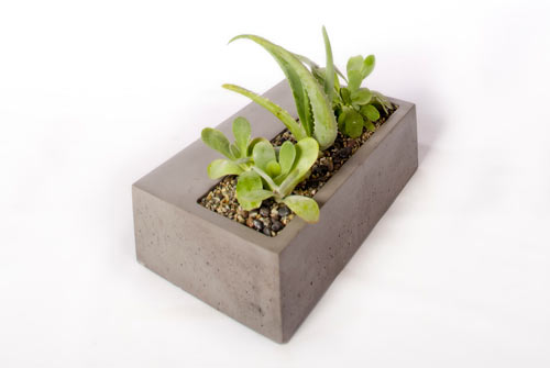 Modern Concrete Planters by Kevin Wood in main home furnishings  Category