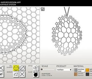 Design Your Own Jewelry with Nervous System's New Radiolaria App