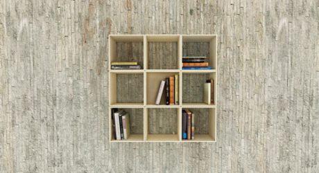 Squaring Movable Bookshelf by Sehoon Lee