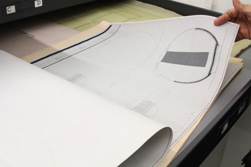 vignelli-center-blueprints