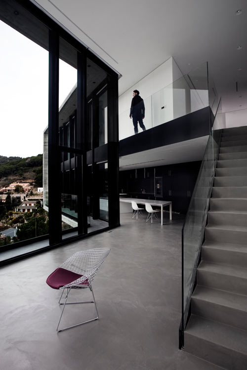 An X Shaped House in Spain by Cadaval & Solà Morales in main architecture  Category