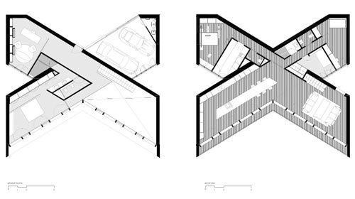 An X-Shaped House in Spain by Cadaval & Solà-Morales - Design Milk