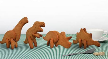 3D Dinosaur Cookie Cutters by Suck UK
