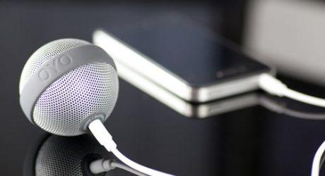 BALLO Portable Speaker by Bernhard Burkard for OYO