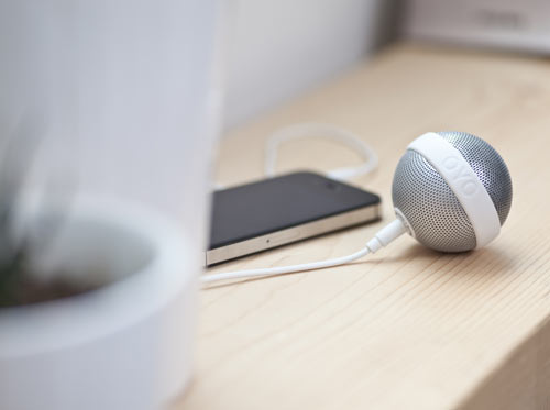 BALLO Portable Speaker by Bernhard Burkard for OYO in technology main  Category