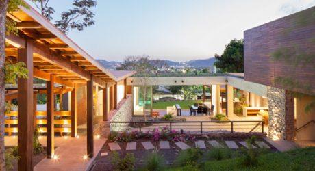 Rustic Meets Modern: Casa Jardin by Cinco Patas al Gato