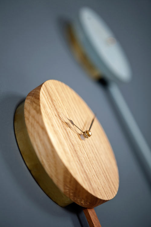 Modern Pendulum Clock: ZWILLING by Christian Kim in main home furnishings  Category