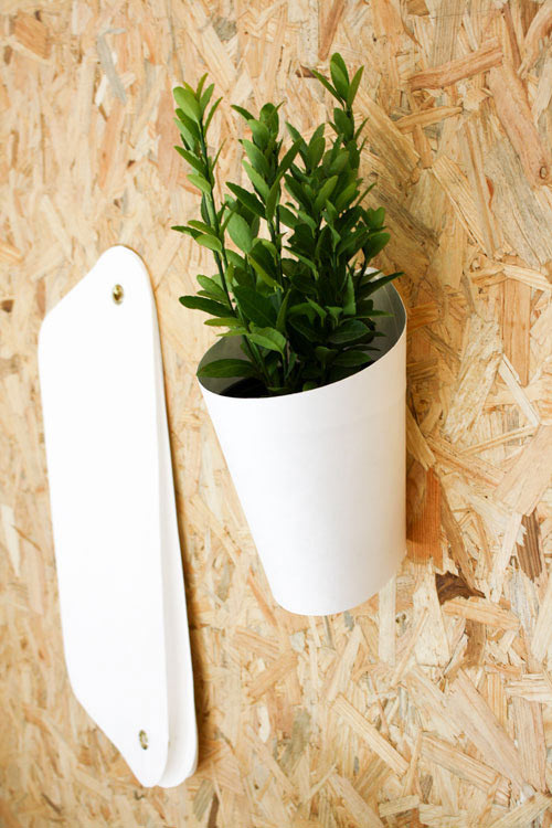 Get Out! Opot Wall Planter by Clara del Portillo in home furnishings Category