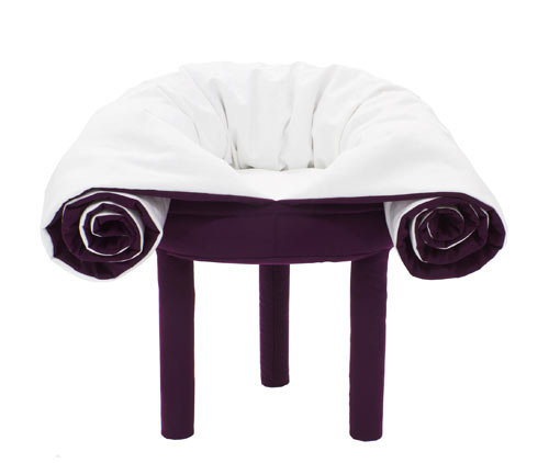 Collerette Convertible Pouf by Les M Design Studio for Casamania in main home furnishings  Category