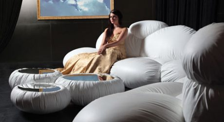Lounge on a Cloud: CIRRUS Seating by DIZAJNO