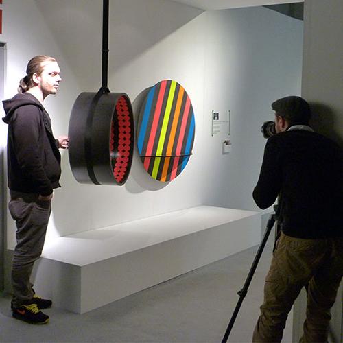 D3 Design Talents: Reflection Range - Circus / Buren by Kim Thome