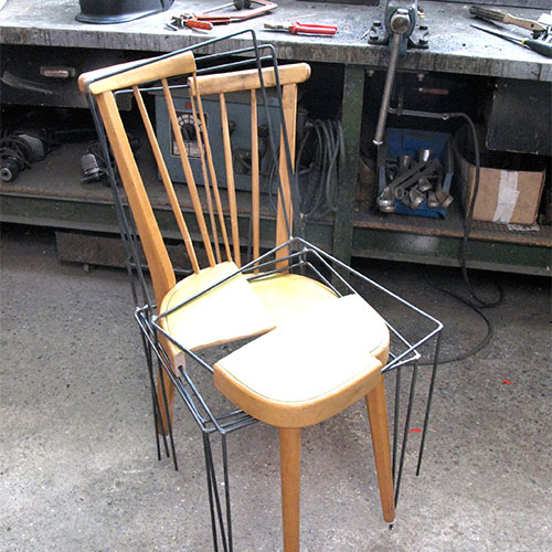 Julian Sterz 3/4 Place Keeper Chair