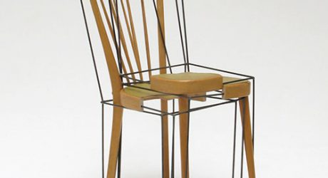 The 3/4 Place Keeper Chair by Julian Sterz