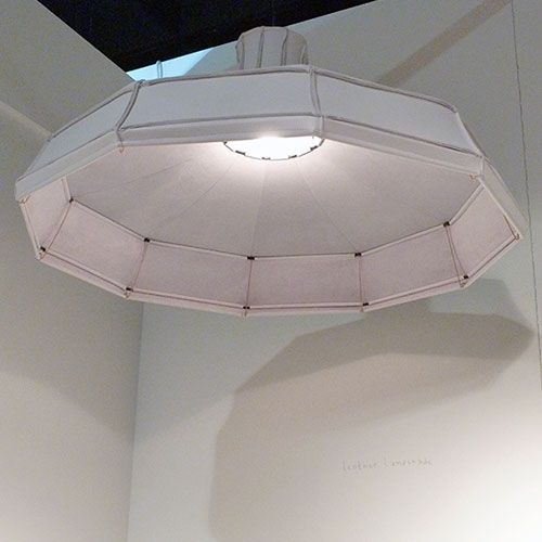 Pepe Heykoop and Tiny Miracles leather lightshade