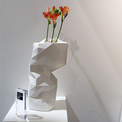 Pepe Heykoop and Tiny Miracles paper vase