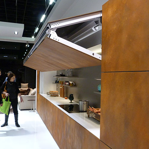 Vision Hidden Kitchen by Warendorf at IMM Cologne