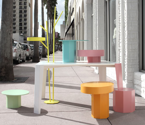 Art Deco-Inspired Displays: Table in Wonderland by Fabrica