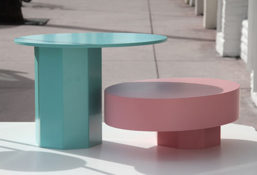 Art Deco Inspired Displays: Table in Wonderland by Fabrica in style fashion main home furnishings  Category