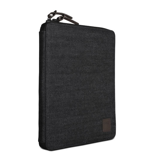 Recycled Denim & Canvas Tech Cases by Ikku in technology style fashion main  Category