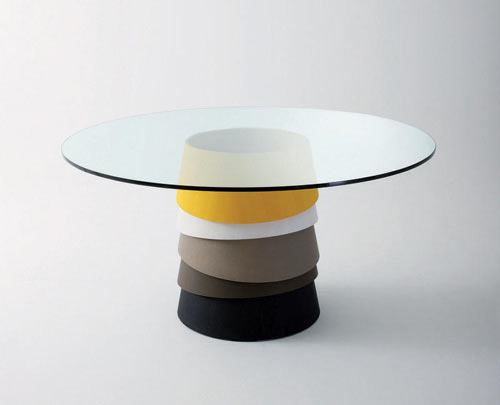 Geometric Coffee Tables by Gallotti&Radice at M2L
