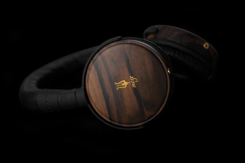 Elegant, Modern Wood Headphones by Meze in technology style fashion main  Category