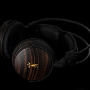 Elegant, Modern Wood Headphones by Meze