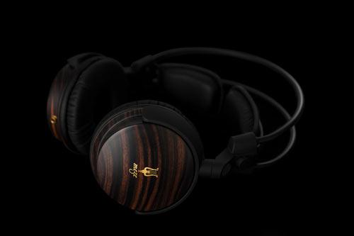 Elegant, Modern Wood Headphones by Meze