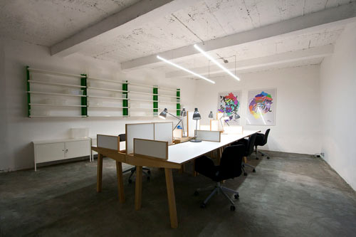 NOVA ISKRA: A Multifunctional Coworking Space for Creatives in main interior design  Category