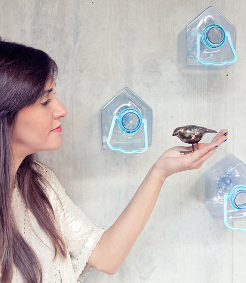 Plastic Bird House by Colectivo da Rainha