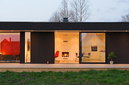 A Retro Modern Prefab: Pavilion 65 by Pavilion Living in architecture Category