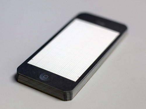 PixelPads: Notepads That Resemble Your iPads and iPhones