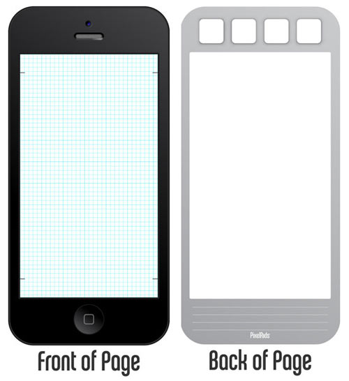PixelPads: Notepads That Resemble Your iPads and iPhones in technology style fashion main  Category